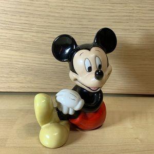Disney Mickey Mouse Sitting Ceramic Figurine